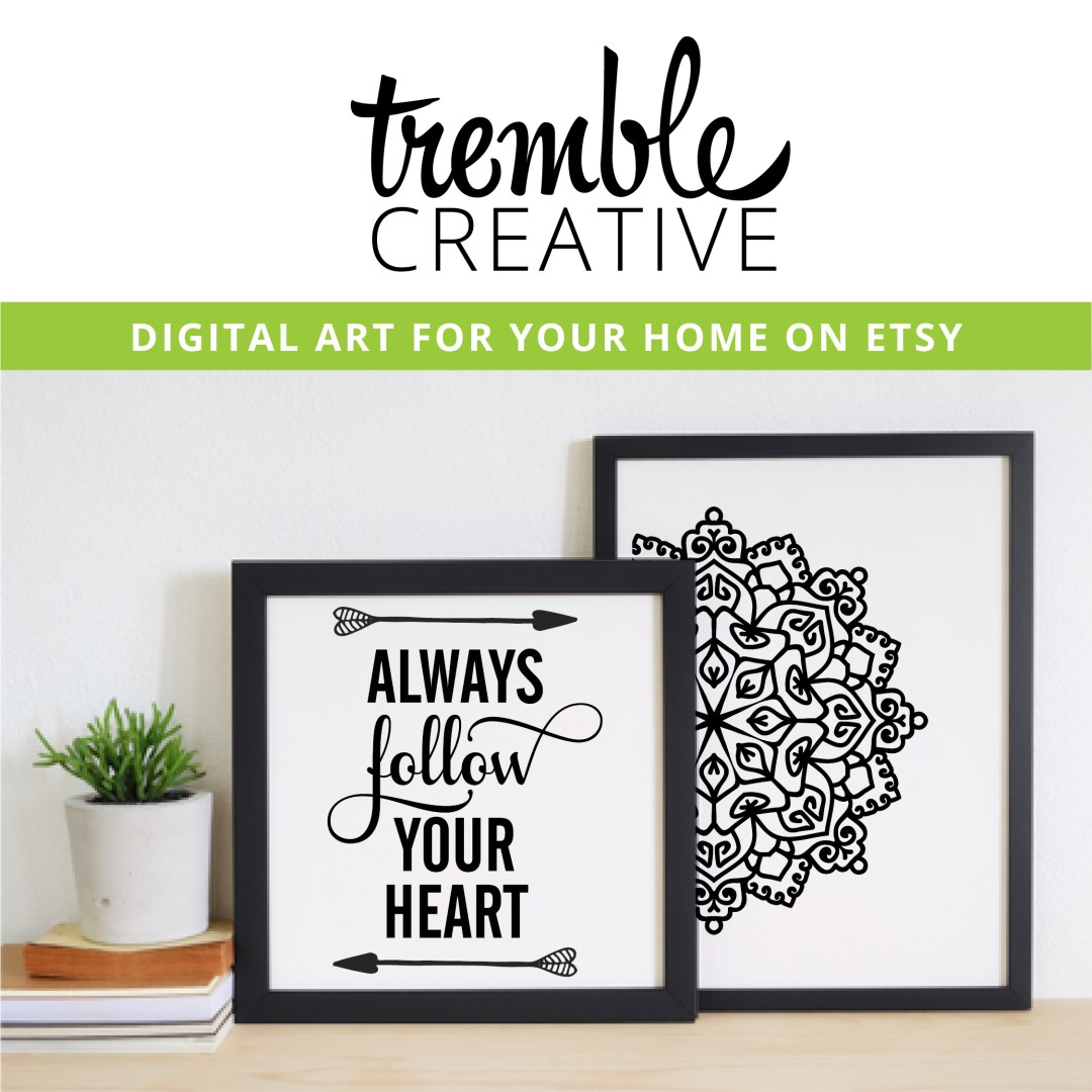Tremble Creative Etsy Shop