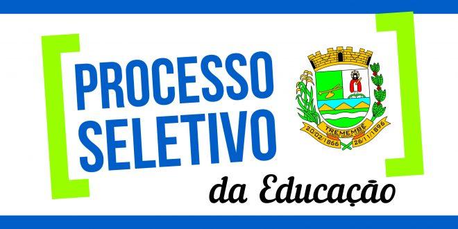 Trigésimo Sexto Edital de convocação dos aprovados no Processo Seletivo para Auxiliar de Desenvolvimento Infantil e Merendeiro.