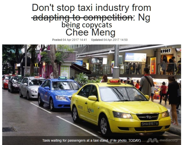 Largest taxi operator ComfortDelGro 'innovates'...