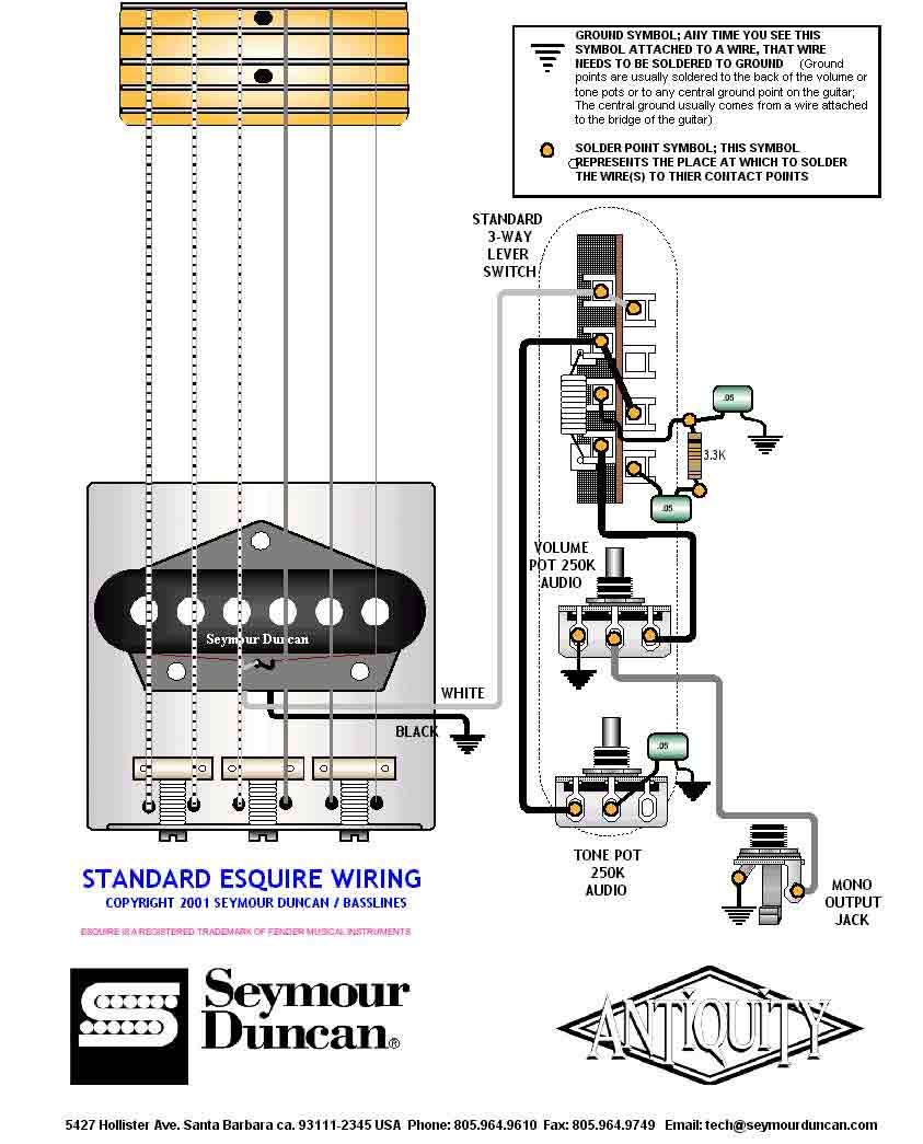 Switchcraft Jack Wiring Diagram 31 Images Guitar Stereo Wire 4 Pole Seymour Standard Esquire 091resize6652c824 1