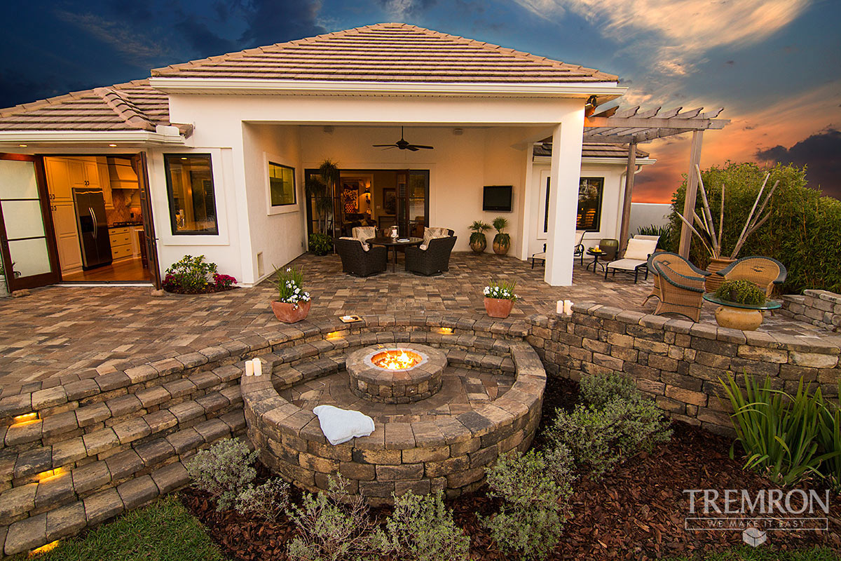 Ok, mission bay park has 159 fire pits to choose from! Mega Olde Towne Pavers Tremron Jacksonville Pavers
