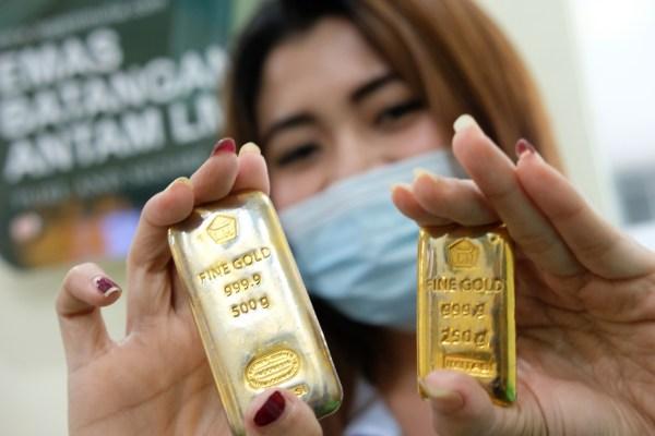 Kilau Emas Antam Tak Pudar Di Tengah Sentimen Pandemi COVID-19