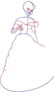 ҚАДАМ 9. Құйрық. Ол сонымен қатар селестерикада да қалың және ұзақ. Сізге әлі де көрсетілген тәж мен кристалды алқа салу керек. Сиқырлы мүйіз өте сипатта болады. Тәж оны жасырмайды.
