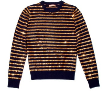 michael-kors-collection-striped-sequined-crewneck-pullover