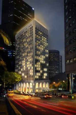 The Murray, Hong Kong, a Niccolo Hotel – Exterior Night View