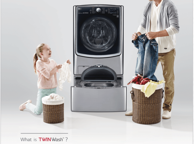 LG TwinWash redefining the concept of laundry