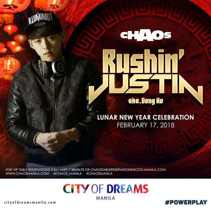 DJ Rushin Justin aka Dong Ho at Chaos