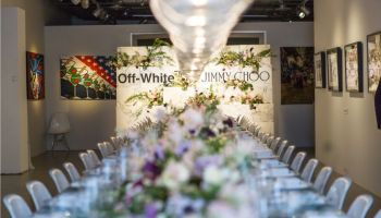 SANDRA CHOI & VIRGIL ABLOH HOST NYFW DINNER TO CELEBRATE THE OFF-WHITE JIMMY CHOO COLLECTION (2)