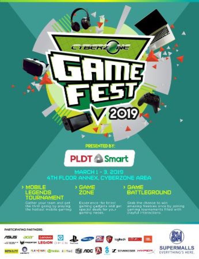Calling All E-Gamers! CyberZone Game Fest 2019 Launches on