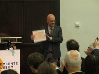 Uitreiking Ouborg prijs aan Marcel van Eeden