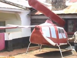 Farm Boy Assembles 'Chopper' in Kiambu