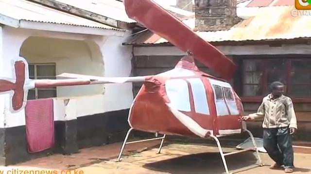 Farm Boy Assembles 'Chopper' in Kiambu