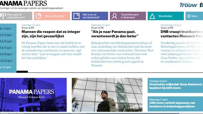 Femke Herregraven, Henrik van Leeuwen en de Panama Papers