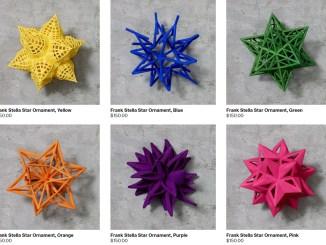 De Frank Stella kerstballenlijn