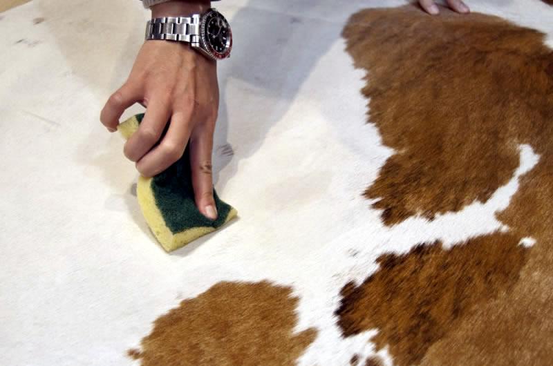comment nettoyer un tapis en peau de