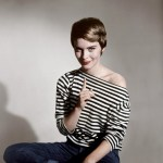 Jean Seberg: Pixie & Stripes