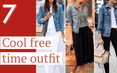 Cool free time outfits
