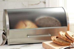 Metalowy chlebak