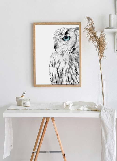 Plakaty czarno białe – estetyczny minimalizm w dekoracji ścian