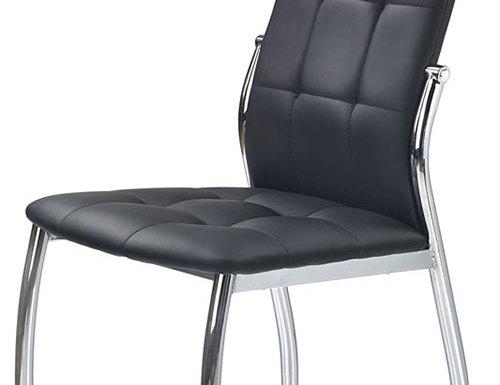 Piękne, minimalistyczne krzesła metalowe