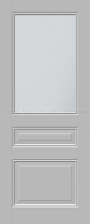 <h5>Trend E590</h5><p>Paneeldeur uit te voeren met E1 profilering.  Keuze uit beglazingssoorten, Blank glas, Satijn glas, Blank facet geslepen glas en Satijn facet geslepen glas.</p>