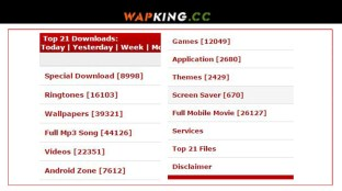 WapKing - Mp3 Music | Mp4 Videos | Games | Songs | Wapking 2020 Download