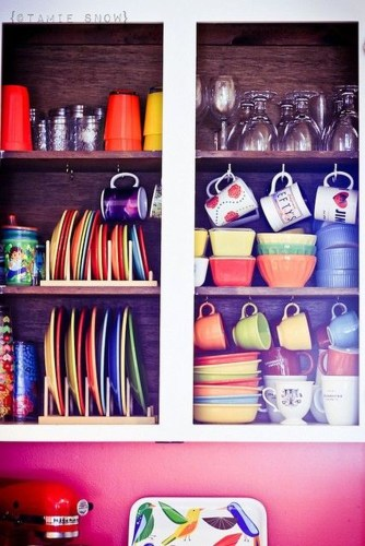 Functional Dish Storage Inspirations For Your Kitchen 06