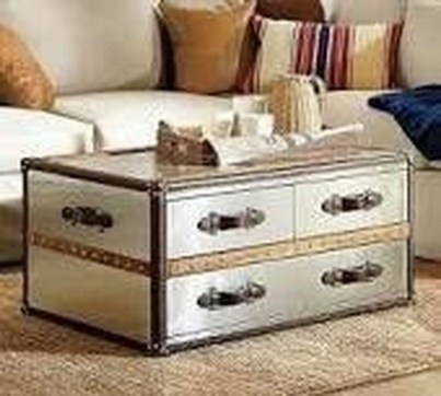 Ideas To Decorate Your House With Vintage Chests And Trunks 35