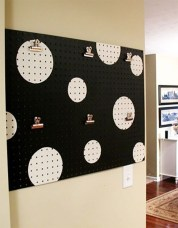 Smart Ways To Organize Your Home With Pegboards 03