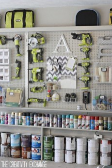 Smart Ways To Organize Your Home With Pegboards 08