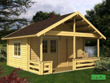 Affordable Wooden Houses For Small Families 37