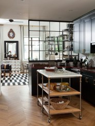 Beautiful Open Kitchens With Unique Partitions And Room Dividers 19