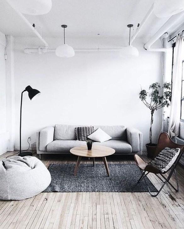 Minimalist Industrial Apartment 15