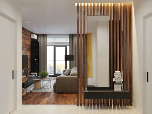 Minimalist Industrial Apartment 17