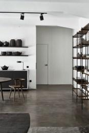 Minimalist Industrial Apartment 45