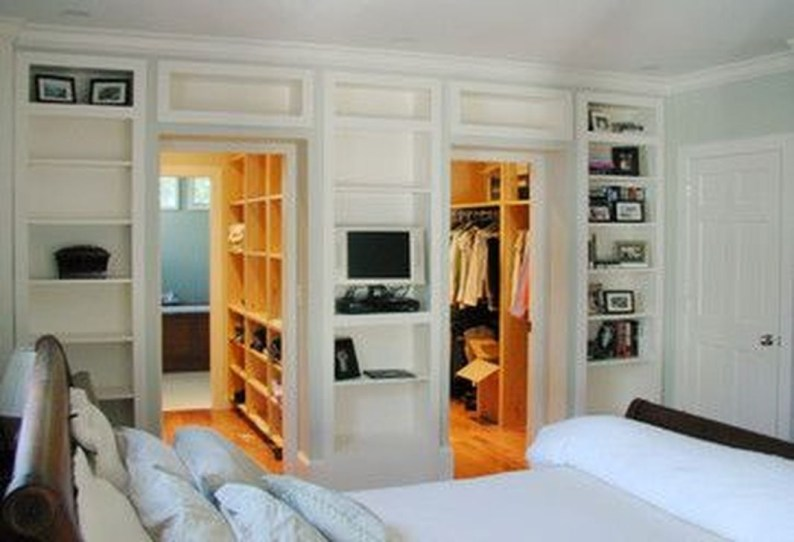 Amazing Bedroom Designs With Bathroom 19