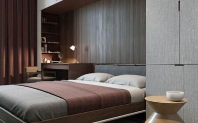 Amazing Bedroom Designs With Bathroom 50