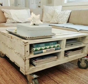 Adorable Crafty Diy Wooden Pallet Project Ideas 16