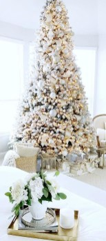 Adorable White Christmas Decoration Ideas 28