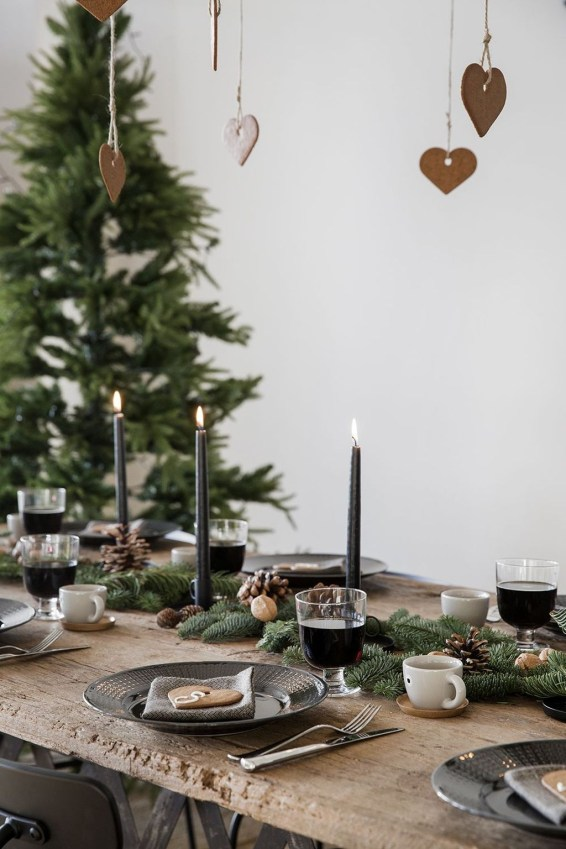 Awesome Scandinavian Christmas Decor Ideas 57