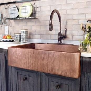 Best Farmhouse Kitchen Sink Ideas 40