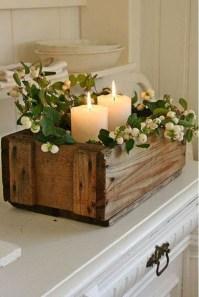 Charming Christmas Candle Decor Ideas 11