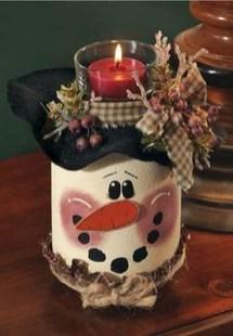 Charming Christmas Candle Decor Ideas 21