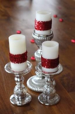 Charming Christmas Candle Decor Ideas 42
