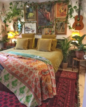 Creative Bohemian Bedroom Decor Ideas 26