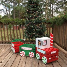 Cute Outdoor Christmas Decor Ideas 20