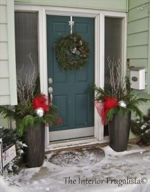 Cute Outdoor Christmas Decor Ideas 22