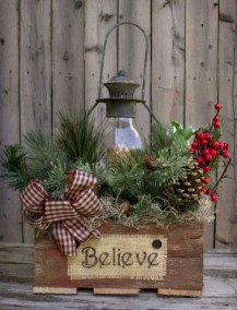 Cute Outdoor Christmas Decor Ideas 29