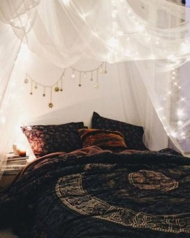 Elegant Bohemian Bedroom Decor Ideas 20