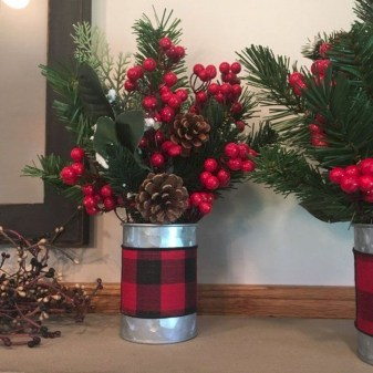 Fascinating Farmhouse Christmas Decor Ideas 50